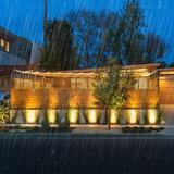 LEONLITE Shielded Low Voltage Hardwired Well Light, 6w Led Inground Light, 3000k Warm White in Black, Size 4.21 H x 4.02 W x 4.02 D in   Wayfair