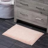 Eider & Ivory™ 100% Turkish Cotton Bathroom Rug - Luxurious - Soft & Thick - Highly Absorbent - Hotel Spa Collection 100% Cotton in Pink   Wayfair