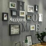 Latitude Run® 10Pcs Picture Family Frame Sets For Wall Collage in White, Size 2.0 H x 29.5 W x 49.6 D in | Wayfair 298BC52DE60E4C7C97E6E8003A656333
