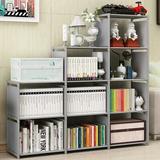 Rebrilliant 9-Cube Storage Organizer, DIY Adjustable Bookcase, Bookshelf w/ 9 Book Shelves, Home Furniture Storage in Gray | Wayfair