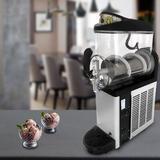 Viugreum 12l Single Tank Commercial Slushy Machine, 110v Frozen Drink Cooling Beverage Snowcone Maker Machine, Night Modes in Gray | Wayfair
