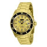 Invicta Pro Diver Automatic Men's Watch - 40mm Gold (ZG-35846)
