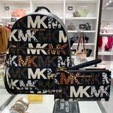 Michael Kors Bags   Bundle Michael Kors Adina Multi Black Large Logo Book Bag Phone Wallet Wristlet   Color: Black/Gold   Size: Os