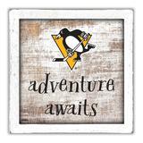 """Pittsburgh Penguins 14'' x 13'' Adventure Awaits Money Box"""