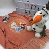 Disney Shirts & Tops   Olaf Disney Plush Toy And Frozen Top Bundle   Color: Brown/Red   Size: 8g