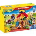 Playmobil Adventskalender Weihnachtskrippe (70259), 1-2-3, ab 18 Monaten bunt Kinder Ab Altersempfehlung