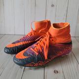 Nike Other | Nike Hypervenom Soccer Cleats | Color: Orange/Purple | Size: 4