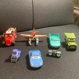 Disney Toys   Lot Of Disney Cars Movies Car Figurines Toys   Color: Brown   Size: Osb