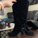 Nine West Shoes | Knee Length Black Boots | Color: Black | Size: 8