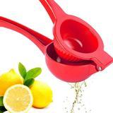 KATIER Premium Quality Metal Lemon Squeezer, Lime Juice Press, Manual Press Citrus Juicer For Squeeze The Freshest Juice,Practical in Red | Wayfair