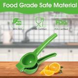 KATIER Citrus Hand Juicer, Premium Quality Metal Orange Juice Squeezer, Medium,Practical & Durable in Green   Wayfair KATIER79efb5b