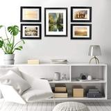 Latitude Run® Picture Frames Set Of 7, Multiple Picture Frame Collage For Tabletop Or Wall Decor, Gallery Wall Frame Set For Wall Collage w/ Mat