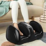 Inbox Zero Foot Massager Machine Shiatsu Foot & Calf/Leg Massager in Black, Size 18.0 H x 12.0 W x 10.0 D in | Wayfair