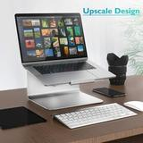 """long_ye_da Aluminum Cooling Computer Stand, Laptop Stands For Desk Compatible For Apple Macbook Pro/Air, All Notebooks From 11 To 17"""" 