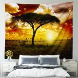 East Urban Home African Tapestry Wall Hanging Small, Size 52.0 H x 60.0 W in | Wayfair 5C2DDBED1EAF4EAA8A9AA357F814FEB1