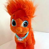 Disney Toys | Build A Bear Plush Palace Pet Plush Stuffed Animal Toy Orange Ariel Cat Treasure | Color: Orange | Size: 18 In