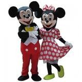 Disney Holiday | Mickey & Minnie Mouse Mascot Costume Adult Halloween Birthday Party Disney Girl | Color: Gray | Size: Os