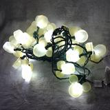 Disney Party Supplies   Disney Magic Holiday 25 Count Mickey Mouse Ears White Shimmering Magic Lights   Color: White/Yellow   Size: Os