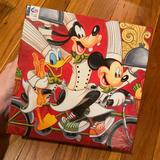 Disney Games   Disney 1000 Piece Jigsaw Puzzle Lots Of Fun - All Pieces Accounted For!   Color: Black/Red   Size: Os
