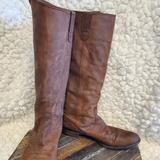 Madewell Shoes | Madewell Archive Weston Suede Flat Knee High 7 | Color: Brown | Size: 7