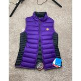 Columbia Jackets & Coats | Columbia Clemson Puffer Reversible Vest | Black And Purple Womens Small | Color: Purple | Size: S