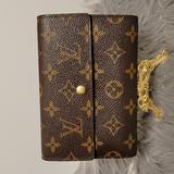 Louis Vuitton Bags | Lv Monogram Trifold Medium Wallet With Card Case | Color: Brown/Tan | Size: Os