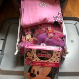 Disney Bedding | Minnie Mouse 4pc Toddler Bed Set, 2pc Sheet Set, & Valance | Color: Pink/Purple | Size: Toddler Bed