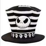 Disney Accessories   Disney The Nightmare Before Christmas Jack Skellington Top Hat   Color: Black/White   Size: Os