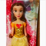 Disney Dresses | New Disney Belle Doll And Yellow Belle Dress, New In Box. This Is A Set. Sz 4 | Color: Yellow | Size: 4tg