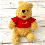Disney Toys   Disney Winnie The Pooh Stuffed Plush Toy 10in   Color: Gold/Yellow   Size: 10in