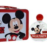 Disney Other | Disney Mickey Mouse By Disney For Kids - 2 Pc Gift Set 3.4oz Edt Spray, Metallic | Color: Red/White | Size: Osbb