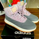 Adidas Shoes   Nwb Store Display Adidas Fusion Storm Wtr Womens 7 Shoes Boots Basketball   Color: Gray/Purple   Size: 7