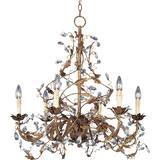 Maxim Lighting Elegante 26 Inch 6 Light Chandelier - 2851EG
