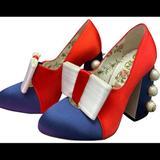 Gucci Shoes | Gucci Sz 39.5 | Color: Blue/Red | Size: 39.5