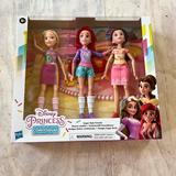 Disney Toys | New Disney Princess Doll Set Ariel, Belle, And Repunzel | Color: Brown | Size: Osg