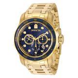 Invicta Men's Watches - 35397 Pro Diver Quartz Chronograph Blue Dial Watch