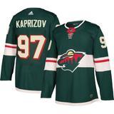 Minnesota Wild Kirill Kaprizov #97 Adizero Authentic Jersey - Green - Adidas Sneakers