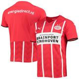 """""""Men's Puma Red/White PSV Eindhoven 2021/22 Home Replica Jersey"""""""