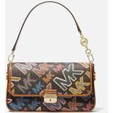 Bradshaw Shoulder Bag Grafitti - Brown - MICHAEL Michael Kors Shoulder Bags