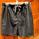Nike Swim   Nike Swim Shorts   Color: Black/Gray   Size: Xxl