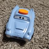 Disney Toys | 2$10 Cars Finn Mcmissile Fisher Price 2010 Toy Disney | Color: Blue | Size: Osb