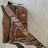 Michael Kors Bags   Brown And Animal Print Michael Kors Suede And Leather Purse.   Color: Brown   Size: Os