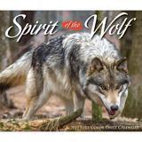 Willow Creek Press Spirit of the Wolf 2022 Box Calendar