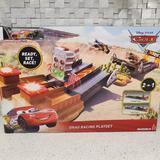 Disney Toys | Disney Pixar Cars Drag Racing Playset Disney Cars Xtreme Racing Series | Color: Blue/Red | Size: Osbb