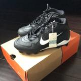 Nike Shoes   Nike Womens Size 6.5 Soccer Cleats   Color: Black/White   Size: 5bb