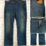 Levi's Jeans | Levis 559 Mens 36x30 Blue Jeans Faded Denim Stretch Relaxed Straight Leg | Color: Blue | Size: 36