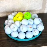 Nike Games | Assorted Used Golf Balls (46 Golf Balls) | Color: White/Yellow | Size: Os
