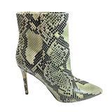 Nine West Shoes   Nine West Trendluver Bootie In Snake Embossed Leather   Color: Black/Green   Size: 8