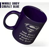 lansi2016 Funny Engraved Coffee Mug - The Only Superman I Know Is My Dad - Best As Gift For Father's Day Birthdays Christmas From Daughter Son Or Wife