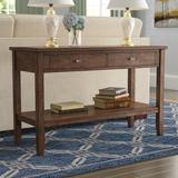 Loon Peak® East Pleasant View Console Table Wood in Brown, Size 30.0 H x 47.0 W x 18.0 D in   Wayfair LOON2240 26855592